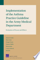 Implementation of the Asthma Practice Guideline in the Army Medical Department