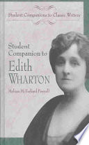 Student Companion to Edith Wharton