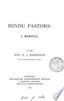 Hindu Pastors