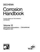 DECHEMA Corrosion Handbook  Chlorinated Hydrocarbons  Chloroethane   Phosphoric Acid