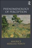 Phenomenology of perception /