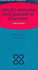 Oxford Specialist Handbook of Applied Medicine and Surgery in Dentistry
