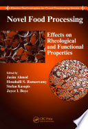 Novel Food Processing Food Processes In The Past Decade Has