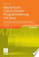 Masterkurs Client Server Programmierung Mit Java