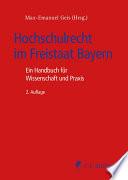 Hochschulrecht im Freistaat Bayern