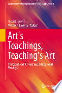 Art s Teachings  Teaching s Art