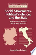 Social Movements  Political Violence  and the State