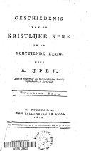 Geschiedenis van de kristlijke kerk in de achttiende eeuw