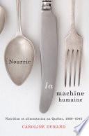 Nourrir la machine humaine