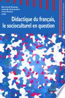 illustration Didactique du français, le socioculturel en question
