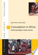 Consumption in Africa