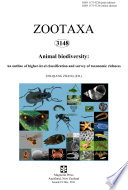 Animal biodiversity  An outline of higher level classification and survey of taxonomic richness
