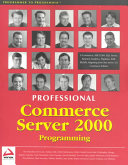 Professional Commerce Server 2000 Programming