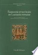 illustration du livre Economie et territoire en Lusitanie romaine