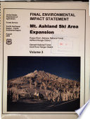 Rogue River and Klamath National Forests  N F    Mt  Ashland Ski Area Expansion