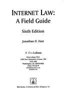Internet Law  a Field Guide