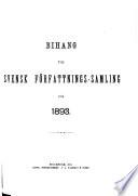 Svensk författningssamling