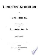 LITERARIFCHES CENTRALBLATT FUR DEUTFCHLAND