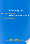 download ebook reclaiming the environmental debate pdf epub