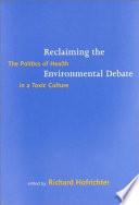 download ebook reclaiming the environmental debate pdf epub