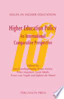 Higher Education Policy  An International Comparative Perspective