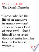 The Dean s December
