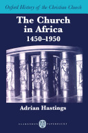 The Church in Africa, 1450-1950