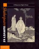 Shakespeare Survey  Volume 65  A Midsummer Night s Dream