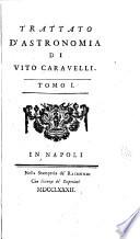 Trattato d astronomia di Vito Caravelli