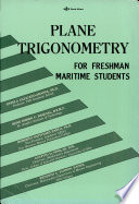 Plane Trigonometry for Freshman Maritime Students