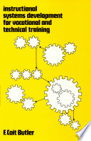 Instructional Systems Development For Vocational And Technical Training