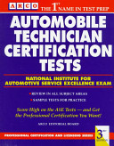 Automobile Technician Certification Tests