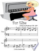 Fur Elise - Beginner Tots Piano Sheet Music Free download PDF and Read online
