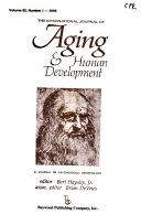Book The International Journal of Aging & Human Development