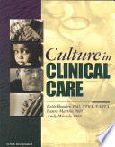 Culture in Clinical Care