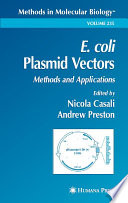 E  Coli Plasmid Vectors