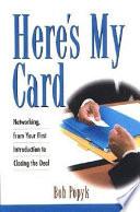 Here s My Card