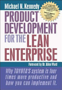 Product Development for the Lean Enterprise