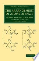 The Arrangement of Atoms in Space Pdf/ePub eBook