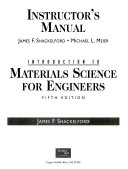 Introduction Materials Science for Engineers