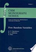 Free Random Variables