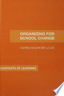 Organizing for School Change