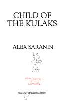Child of the Kulaks