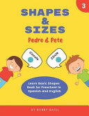 Shapes Sizes Learn Basic Shapes Book For Preschool In Spanish And English