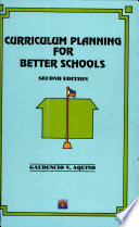 Curriculum Planning for Better School Revised Ed