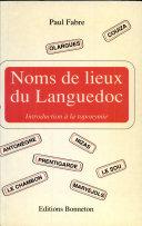 Noms de lieux du Languedoc