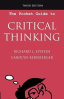 The Pocket Guide to Critical Thinking  3rd Edition