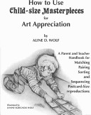 How To Use Child Size Masterpieces for Art Appreciation