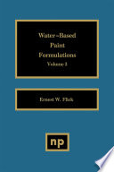 Water Based Paint Formulations