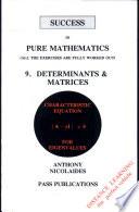 Determinants   Matrices